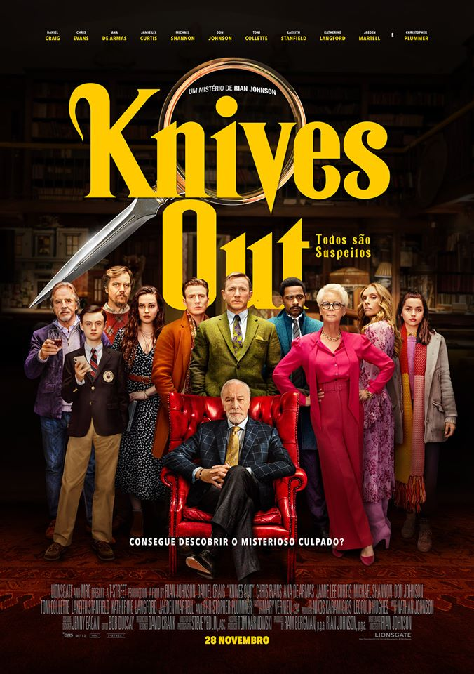 Knives Out (2019) - POSTER